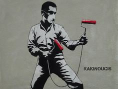 Street Art | KAKINOUCIS, Japan | Fighter