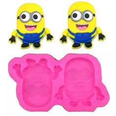Happy Minions, Despicable Me Themed Silicone Mold - Bakell