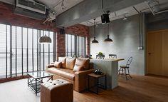 高雄 28 坪小夫妻的工業風公寓 - DECOmyplace