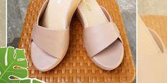 Jual Sandal Wedges Sandal Wedges, Wedge Sandals, Slip On, Model, Shoes, Fashion, Moda, Zapatos, Wedge Flip Flops