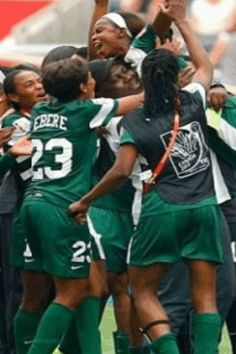 Super Falcon - Nigeria Female National Team football Side is one of African top female clubs playing most African champions matches and in Fifa World cup. Nigeria Flag, African Tops, Falcons, Fifa World Cup, Football Team, Champion, Female, Sports, Women