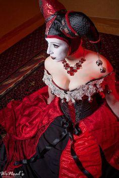 Masquerade Ball Harley Quinn #cosplay