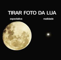 Fotografar a Lua.