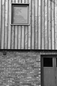 MG Architects — embankment road Wood Cladding Exterior, Larch Cladding, Wooden Cladding, Timber Panelling, Stone Cladding, Wood Siding, Exterior Siding, External Cladding, Agricultural Buildings
