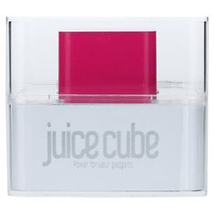 Buy Juice Cube, Emergency Mobile Charger Online at johnlewis.com. Where can I find one of these in America!?
