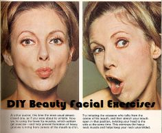 DIY Beauty Facial Exercises