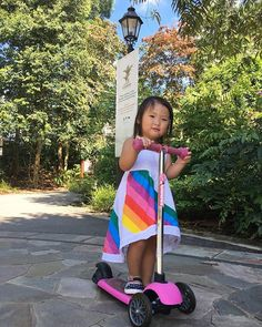 @larissasjy at the botanic garden having a lovely day. Tag us using #yvolutions and show us your pictures. 🌴🌸🌴❤ ---  Kids   Outdoor activities   Parenting   Toys   Scooter   Kids scooter   Yvolution   Mother   Toddler   Y Glider