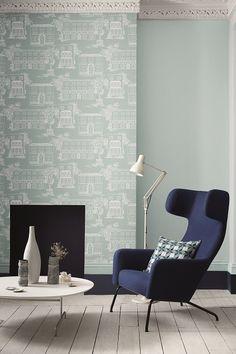 Английская краска для стен Little Green Blue
