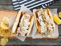 This recipe is exactly what a crab roll should be: Mostly crab, a touch of butter, mayo, and lemon and a little seasoning salt for good measure. Don't bother making these if you can't get …