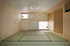 a tatami room at the property's ground floor