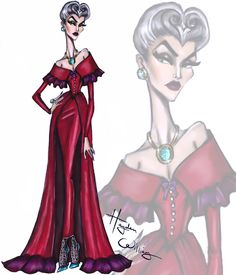 The Villainess collection by Hayden Williams: Lady Tremaine  #LadyTremaine #Disney #DisneyDivas