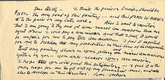 Citation: Jackson Pollock letter to Betty Parsons, ca. 1951 . Betty Parsons Gallery records and personal papers, Archives of American Art, Smithsonian Institution.