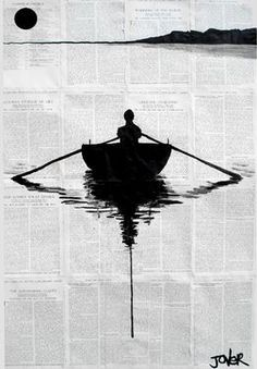 "Loui Jover; Pen and Ink, Drawing ""a simple plan"" #art"
