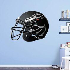 Fathead NCAA Boise State Broncos Black Helmet Wall Decal - 41-40075