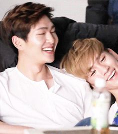 Shinee - Onew & Key / awww...