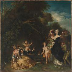Christian Wilhelm Ernst Dietrich, (German, Weimar 1712–1774 Dresden). Surprised, or Infidelity Found Out. The Metropolitan Museum of Art, New York. Purchase, 1871 (71.142)