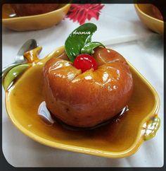 RECETAS DE MACUMANI Manzanas al microondas   Estuches y moldes Lekue a la venta aquí: http://www.cornergp.com/?cat=183