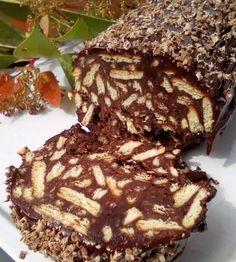 Greek Sweets, Greek Desserts, No Cook Desserts, Greek Recipes, Easy Desserts, Cake Recipes, Snack Recipes, Dessert Recipes, Cooking Recipes