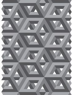 pictures of Tessellation art | Gray Tessellation by ~Humble-Novice on deviantART: