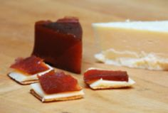 Manchego Cheese and Quince Paste Hors d'Oeuvres - Argentina Cold Appetizers, Cheese Appetizers, Appetizer Recipes, Manchego Cheese, Fruit Preserves, Mixed Fruit, Hors D'oeuvres, Latin Food, Savory Snacks