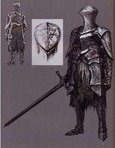 Big album full of knights Arte Dark Souls, Dark Souls 2, Fantasy Character Design, Character Concept, Character Art, Fantasy Armor, Medieval Fantasy, Armor Concept, Concept Art