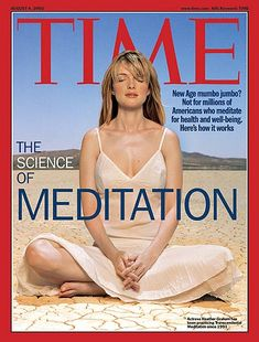 TIME Cover: The Science of Meditation