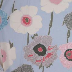 Silk Floral Voile