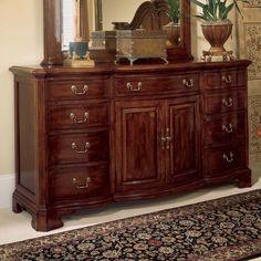 American Drew 791 160 Cherry Grove 45th Triple Dresser   Home Furniture  Showroom