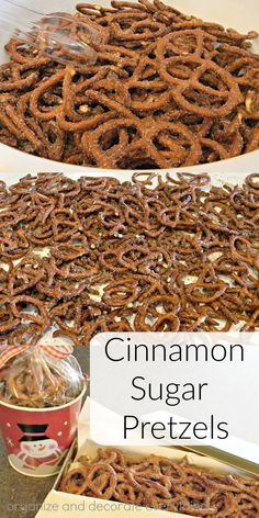 Cinnamon Sugar Pretzels | Organize and Decorate Everything | Bloglovin'