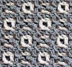 Eräs malli Interlockin Crochet -tekniikalla toteutettuna