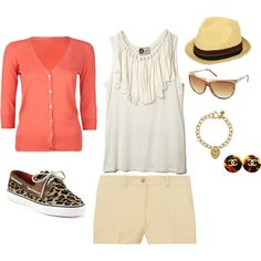 Fun spring/summer outfit, created by bbrink685.polyvore.com