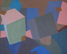 "Skitzoprenic, 1981, 36"" x 24"", acrylic on canvas ©1981 Marcus Badgley. All rights reserved."
