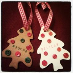 Lazer cut plywood decoration, lovely rustic idea from 'LuLu with love' Lazer Cut, Christmas Crafts, Christmas Ornaments, Plywood, Laser Cutting, Gingerbread Cookies, Rustic, Holiday Decor, Decoration