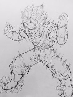 Dessin : Bejitto Super Saiyajin Blue