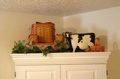 The Plaid Basket: Lynn's Barnyard Bash Decor, Furniture, Room, House, Basket Decoration, Williraye Studio, Home Decor, Farmhouse Style, Craft Room