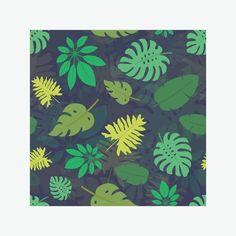 Скатерть «Паттерн с тропическими листьями №1»