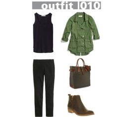 38 Item Capsule Collection Outfit Ideas
