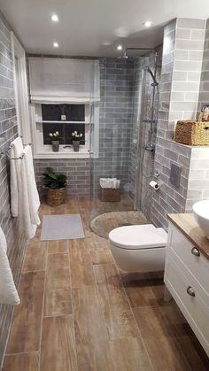 Modern Farmhouse, Rustic Modern, Classic, light and airy master bathroom design tips. Bathroom makeover ideas and master bathroom renovation tips. Diy Bathroom, Small Bathroom Colors, Bathroom Interior, Minimalist Bathroom, Bathroom Renovations, Small Bathroom Renovations, Bathrooms Remodel, Bathroom Decor, Bathroom Renovation