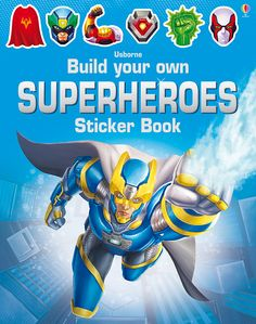 "The ""Build Your Own Superheroes Sticker Book"" is now available to order for your little superhero in your life. This book is a construction book which uses stickers to build a variety of superheroes. You can check out this Sticker Book and others in our collection by going to my website."