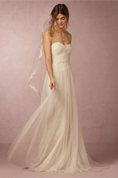 Wedding Dresses For Budget Brides: Lilou Gown at BHLDN
