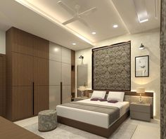 ❤️Kumar Interior -Specialized in Residential Interiors Thane- Mumbai❤️ ☑ 💯High Quality Services ✔️ ☑😍Cost effective Solutions✔️ ☑💓Delivery… Indian Bedroom Design, Indian Bedroom Decor, Luxury Bedroom Design, Master Bedroom Interior, Apartment Bedroom Decor, Bedroom Furniture Design, Master Bedroom Design, Home Interior, Bedroom Cupboard Designs
