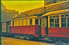 ...tranvia intercomunale Milano-Gallarate locomotore STIE-1 - deposito di Milano - 20 giu 1964 - © Umberto Garbagnati -
