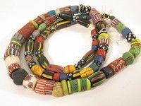 beads.de .:: Original afrikanischer Schmuck, Masken, Kunst- und Gebrauchsgegenstände ::.: 056A Venezianische Handelsperlen Trade beads