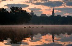 St. Mary's Lake, University of Notre Dame