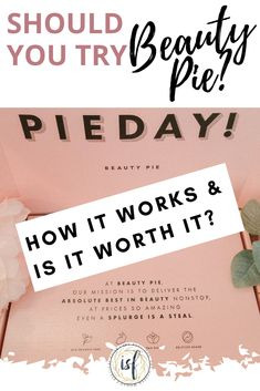 Beauty Pie says they offer luxury beauty and skincare products without the high price tag, but is it really worth it? Find out if you should get your slice of the beauty pie. Beauty Pie, Beauty Hacks, Cleopatra Beauty Secrets, Acne Makeup, Beauty Box Subscriptions, Makeup For Brown Eyes, Luxury Beauty, Anti Aging Skin Care, Skin Care Tips