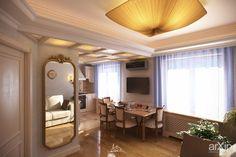 Studio in private apartments in Zaporozhye (Ukraine) - view_01: интерьер, зd визуализация, квартира, дом, ар-деко, 20 - 30 м2, студия, интерьер #interiordesign #3dvisualization #apartment #house #artdeco #20_30m2 #studio #atelier #interior arXip.com