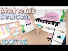 Home Roblox, Roblox Roblox, Bedroom Themes, Girls Bedroom, My Home Design, House Design, Cloud Bedroom, Baby Pink Aesthetic, Cute Room Ideas
