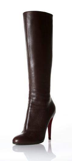 separation shoes e0d81 5f2de CHRISTIAN LOUBOUTIN BOOTS  Michelle Coleman-HERS  ChristianLouboutin Zapatos  Blancos, Zapatos De Piel