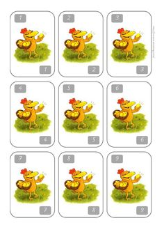 JEU un, deux, trois, poule! CP/CE1 - Caracolus