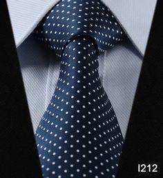 Designer 100% Silk Woven Necktie for Men Classic Man's Necktie